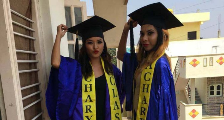 Chand Achieves Goal, Graduates With Degree In Journalism