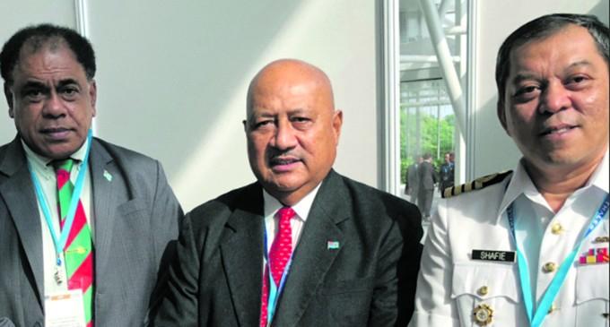 Kubuabola, Qiliho Share, Exchange Defence Talks