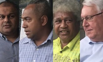 Four deny sedition charges