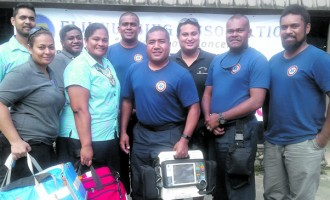 Nurses Work With Volunteers To Upgrade Skills