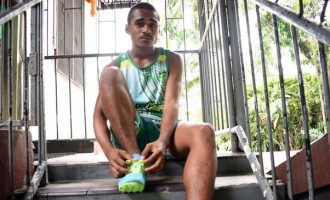First Track Shoes Inspires 400m Runner