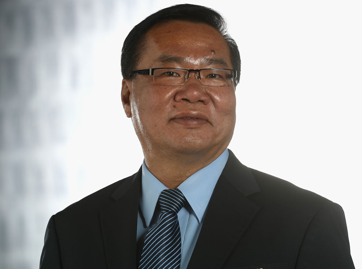 Former OFC president David Chung who resigned amidst audit concerns.
