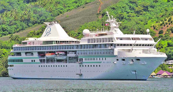 Five Star Ranked Vessel Confirms Trip To Fiji
