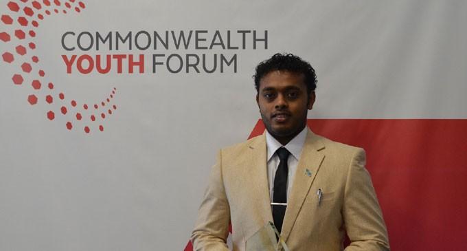 Commonwealth Recognises Kumar's Youthful Engagement