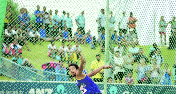 Napuka Thrower Sets New Record