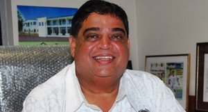 Fiji Football president Rajesh Patel
