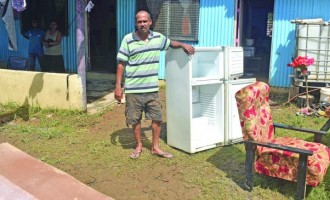 Flood Damage Aches Family