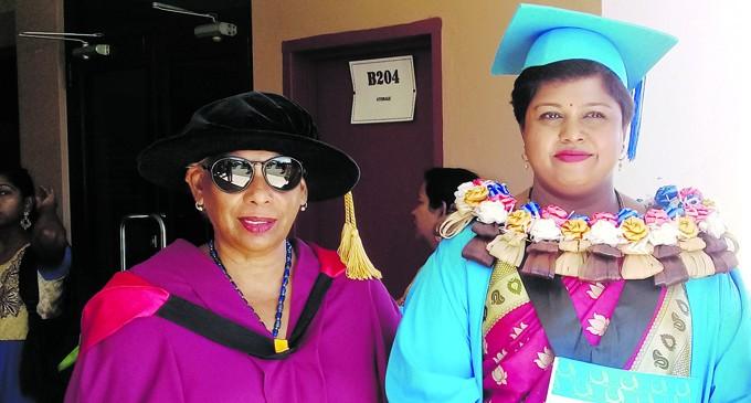 Devi's Struggle Rewarded With Law Degree