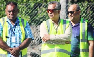 Labasa Water System Works Please Board Director Kumar