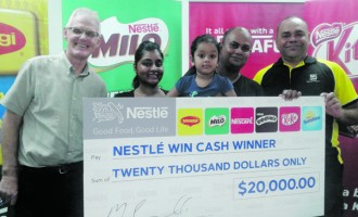 Businessman Scoops $20,000 in Nestle Promotion