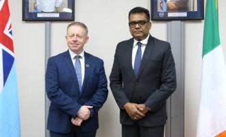 Irish Minister On Fiji Visit