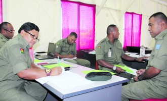 RFMF Draws Own Course For Regimental Sergeant Majors