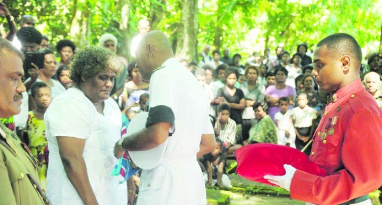 Warrant Officer Laid to Rest at Village