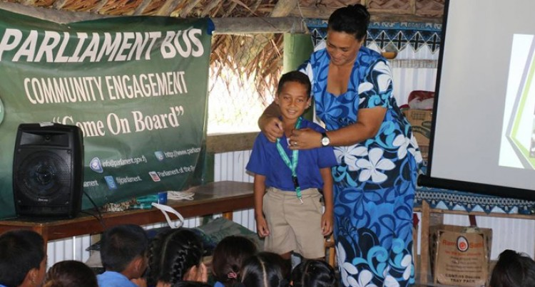 Parliament Outreach Team Visits Rotuma