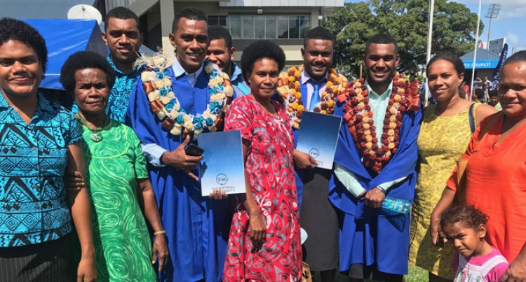 Cousins Graduate Thinking Of Hurdles They Endured