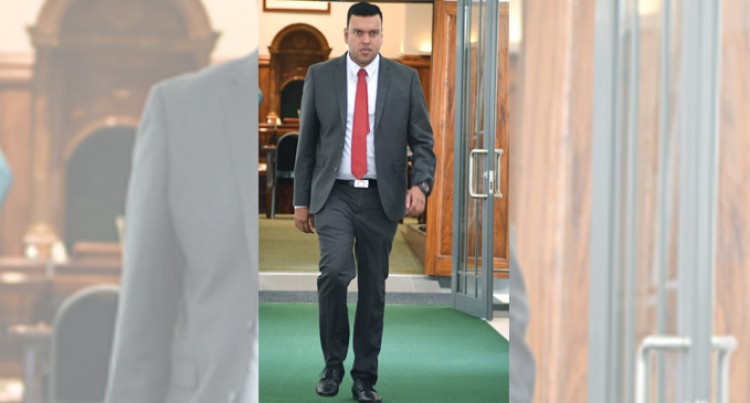 Looking Good, Mr Sudhakar: Fiji Sun Pick For Best Suited