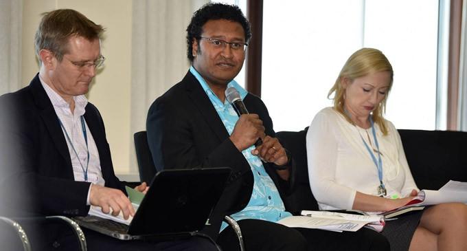 7-Member Fijian Team Facilitates Bonn Talanoa Session