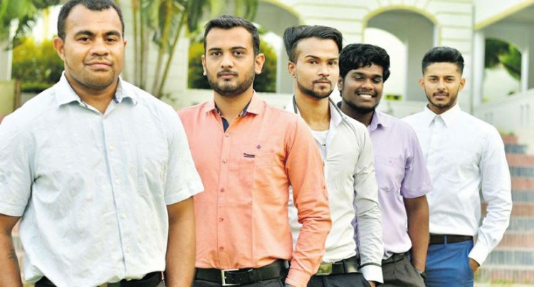 Five More Fijians Graduate From India