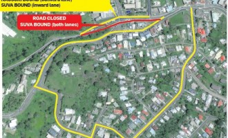 Waimanu Road Upgrading Project Creates Diversion