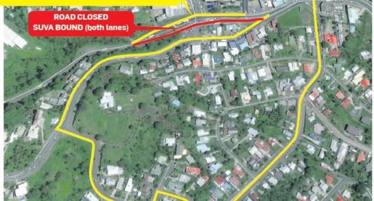 Waimanu Road Upgrading Project Creates Diversion