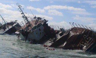 Ports Chief: Derelict Salvaging To Cost $61m