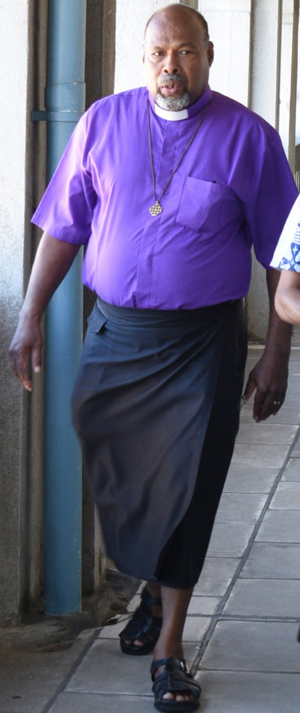 Methodist Church of Fiji Assistant General Secretary Reverend Jeremaia Waqainabete outside the Employment Relations Tribunal on May 4, 2018. Photo: Ronald Kumar