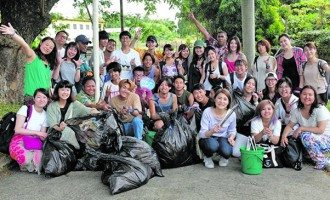 International Students From Institute Clean Up Streets In Lautoka