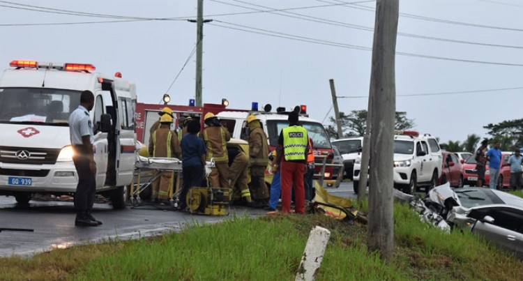 Head-on Collision In Sabeto Lands Three In Lautoka Hospital