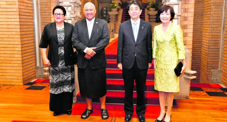 FIJI TO WORK WITH JAPAN