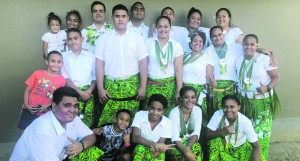 Malha'a District youths at the Rotuma Day celebrations at FMF Gymnasium on May 19, 2018. Photo: Selita Bolanavanua