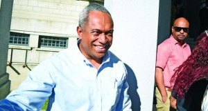 The Fiji Times Editor-in-Chief Fred Wesley outside the High Court on May 22, 2018. Photo: Ronald Kumar