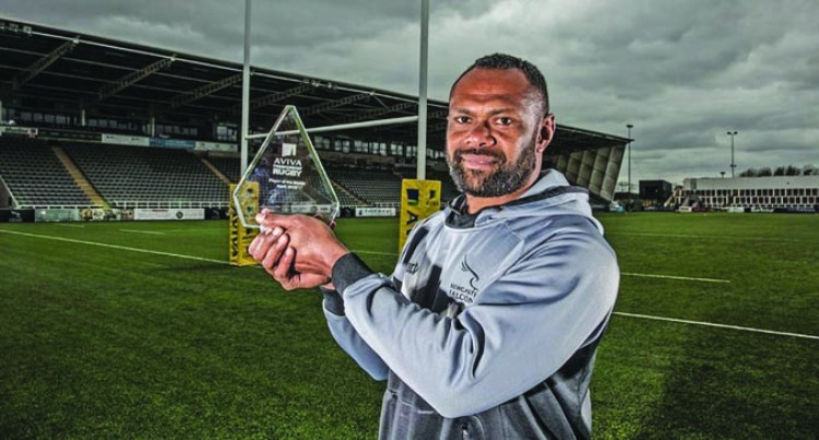 Goneva Named English Clubs' Top Player of the Month for April