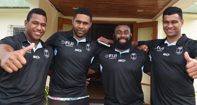 Flying Fijians In Camp