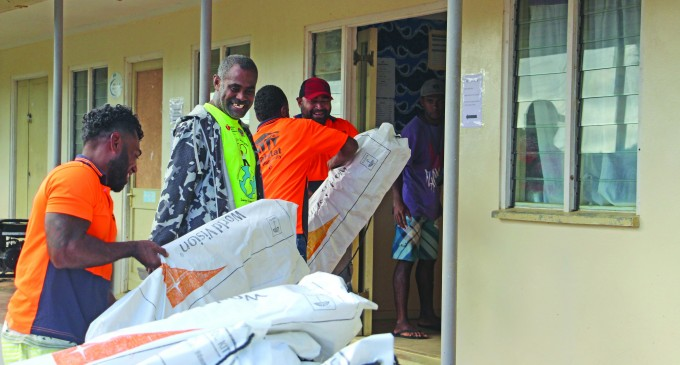 Habitat Hands Out Shelter Kits For Families