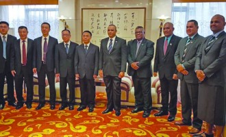 Qiliho Ends Visit To China