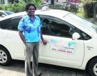 Customer Service Stint Boosts Woman Cabbie's Business