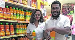 Kamueli and wife Melinda Raiqeu shopping at Morris Hedstrom City Centre supermarket in Suva on May 1, 2018.  Photos: Taraivini Seru