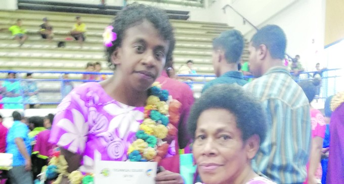 Asilika's Graduation a Special Gift for Her Mother