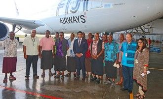 Newly-leased Plane Named After Beqa