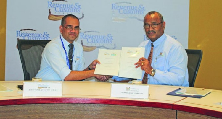 Statistics Bureau And FRCS Sign MoU