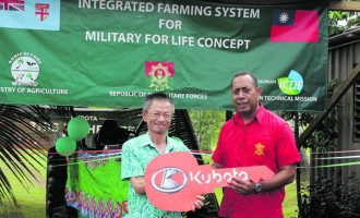 RFMF Gets New Tractor