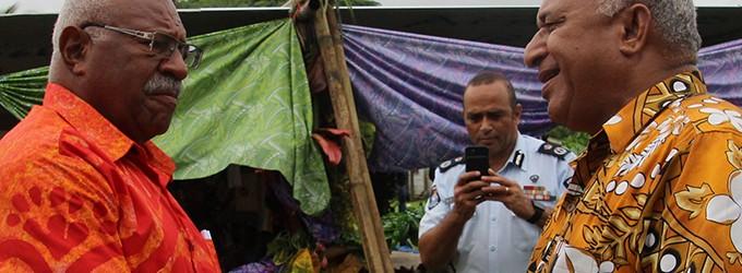 Bainimarama hits back at Rabuka's response