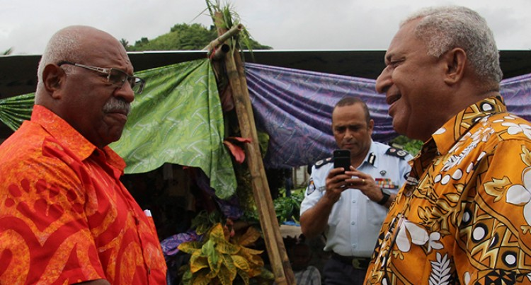 Bainimarama hits back at Rabuka's response