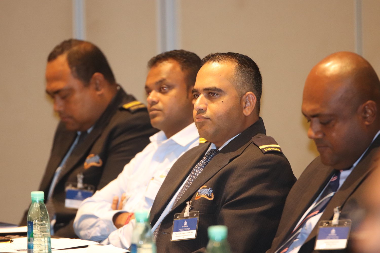 Participants at the INTERPOL Criminal Networks Training at the Sofitel Fiji Resort and Spa on Denarau Island on May 7, 2018. Photo: Fiji Police Force