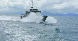 The Fijian Navy vessel Kula. Photo: Fiji Navy