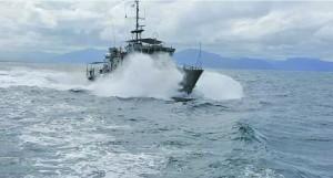 The Fijian Navy vessel Kula. Photo: Fiji Navy