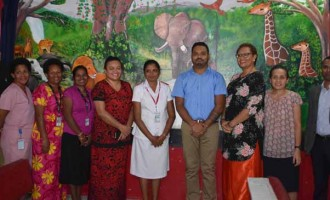 Paintings Spruce Up Ward