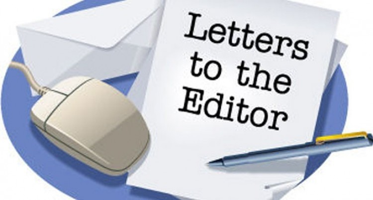 Letters To The Editor 15th June, 2018