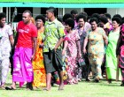Villagers Take Advantage Of Services At Doorstep