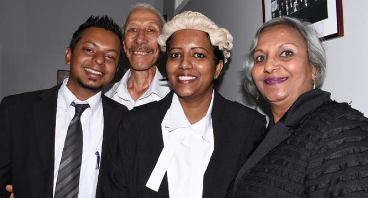 Former Cashier Realises Law Dream